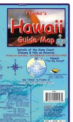 Hawaii Islands Guide Map, laminated, Feb 2007 by Frankos Maps Ltd.