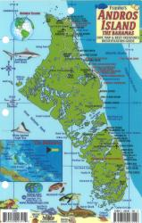 Bahamas Fish Card, Andros Island Fish Card by Frankos Maps Ltd.