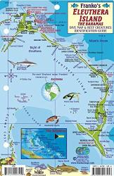 Bahamas Fish Card, Eleuthera Island Fish Card 2010 by Frankos Maps Ltd.
