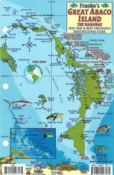 Bahamas Fish Card, Great Abaco Island by Frankos Maps Ltd.