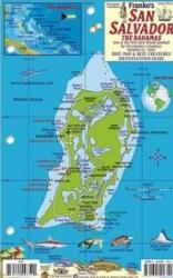 Bahamas Fish Card, San Salvador Island 2011 by Frankos Maps Ltd.