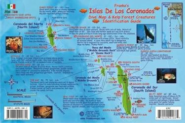 California Fish Card, Coronado Islands 2007 by Frankos Maps Ltd.