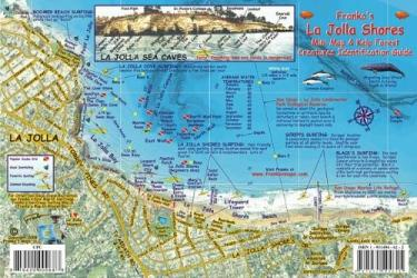 California Fish Card, La Jolla Shores 2008 by Frankos Maps Ltd.