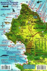 California Fish Card, Monterey Peninsula 2011 by Frankos Maps Ltd.