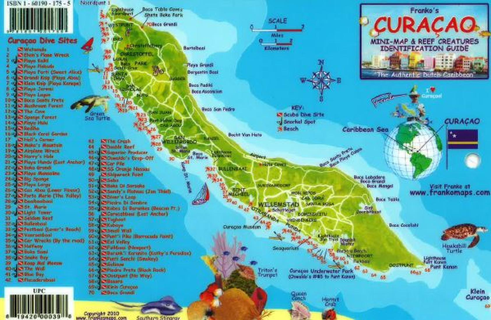 Curacao Maps Caribbean Islands Maps Central America The - Caribbean maps