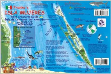Caribbean Fish Card, Isla Mujeres 2008 by Frankos Maps Ltd.