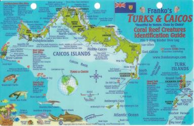 Caribbean Fish Card, Turks and Caicos 2010 by Frankos Maps Ltd.