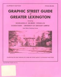 Lexington, Kentucky, Greater, Graphic Street Guide by Metro Graphic Arts
