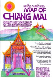 Chaing Mai, Thailand - 19th Edition by Nancy Chandler Graphics