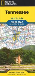 Tennessee GuideMap by National Geographic Maps