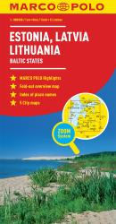 Baltic States: Estonia, Latvia, Lithuania by Marco Polo Travel Publishing Ltd