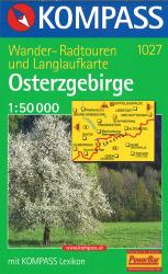 Eastern Ore Mountains Hiking Map by
