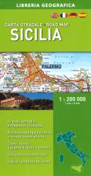 Sicily, Road Map by Libreria Geografica