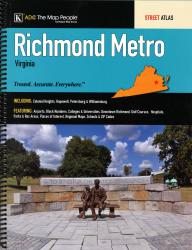 Richmond, VA, Metro Street Atlas by Kappa Map Group