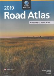 2019 USA Road Atlas with Protective Vinyl Cover by Rand McNally