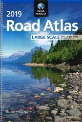 Large Scale Road Atlas 2019 : United States by Rand McNally