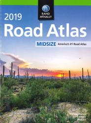 United States, Canada and Mexico, 2019 Midsize Road Atlas by Rand McNally