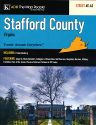 Stafford County, VA Street Atlas by Kappa Map Group