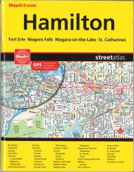 Hamilton and Niagara Falls, ON Street Atlas (Large Print) by Canadian Cartographics Corporation