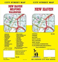 New Haven, CT Map by GM Johnson