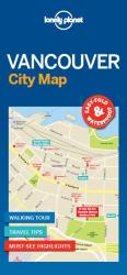 Vancouver City Map by Lonely Planet Publications