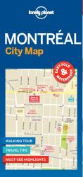 Montreal City Map by Lonely Planet Publications