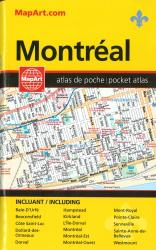 Montreal Pocket Street Atlas by Canadian Cartographics Corporation
