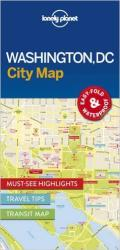 Washington DC Map by Lonely Planet Publications