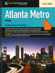 Atlanta, Georgia Metro by Kappa Map Group