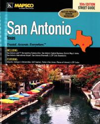 San Antonio, Texas, Atlas, with 65 surrounding communities by Kappa Map Group
