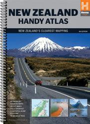 New Zealand, Handy Atlas, 5th edition by Hema Maps