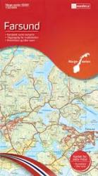 Farsund Topographic Map by Nordeca