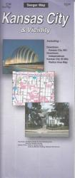 Kansas City and Vicinity, Missouri and Kansas by The Seeger Map Company Inc.