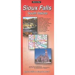 Sioux Falls, South Dakota by The Seeger Map Company Inc.