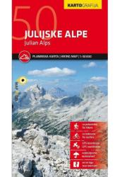 Julian Alps Hiking Map by Kartografija