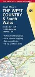 Great Britain Regional Road Map: West Country and South Wales by AA Publishing