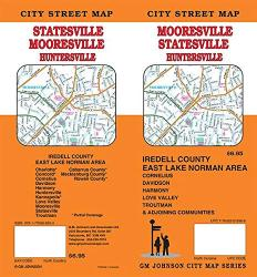 Mooresville, Statesville, Huntersville : Iredell County, North Carolina by GM Johnson