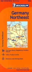Germany, Northeast (542) by Michelin Maps and Guides
