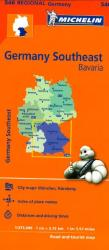 Germany, Southeast (546) by Michelin Maps and Guides