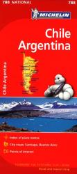 Chile and Argentina (788) by Michelin Maps and Guides