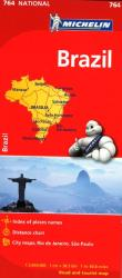 Brazil (764) by Michelin Maps and Guides