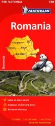 Romania (738) by Michelin Maps and Guides