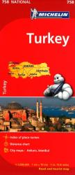 Turkey (758) by Michelin Maps and Guides