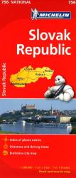Slovak Republic (756) by Michelin Maps and Guides