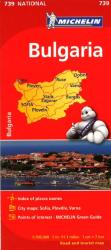 Bulgaria (739) by Michelin Maps and Guides