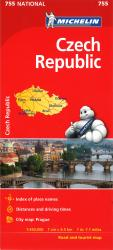 Czech Republic (755) by Michelin Maps and Guides