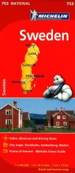Sweden (753) by Michelin Maps and Guides