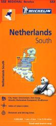 Netherlands, South (532) by Michelin Maps and Guides