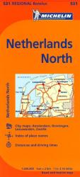 Netherlands, North (531) by Michelin Maps and Guides