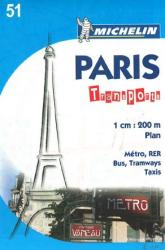 Paris, France, Transports (51) by Michelin Maps and Guides
